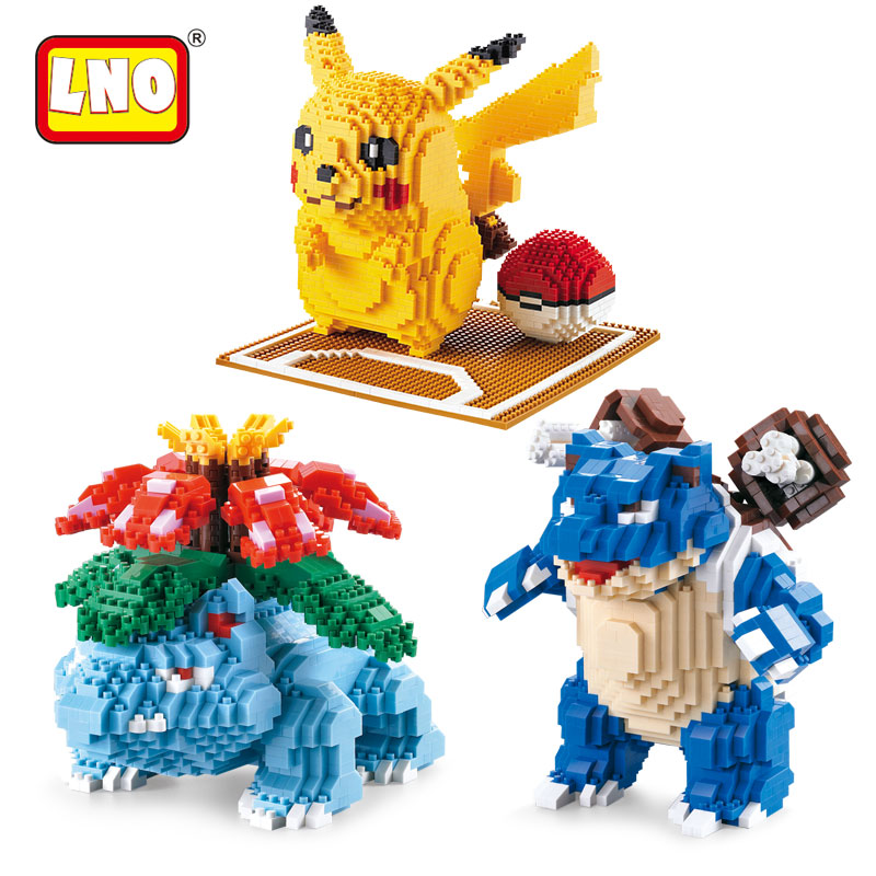LNO action & toy figures big size japan animals models nanoblock micro diamond building blocks diy mini bricks toys without box. wl mini blocks captain america animal fruit intelligence model building nanoblock diy cute party supplies toy
