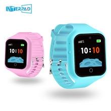 2019 Interpad Anti Verloren Smart Uhr Kinder GPS Uhr SOS Zwei weg Anruf Smart Baby Uhr Für iOS android Telefon Smartwatch