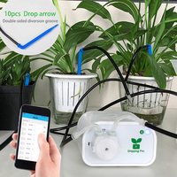 Garden Intelligent Automatic Watering Mobile Phone Control Device Drip Family Garden Care Timer Irrigation Controller System 35