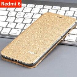 Xiaomi Redmi 6A Case Xiaomi Redmi 6 Case Cover Leather Flip Slim Book Cover Stand Luxury Glitter Redmi6 6A Xiaomi Redmi 6 Case