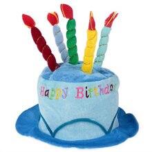 Chapeau de bougie pour gâteau d'anniversaire court | Fournitures de parc d'attractions pour fête d'adulte, accessoires pour robe de spectacle, casquette P7Ding