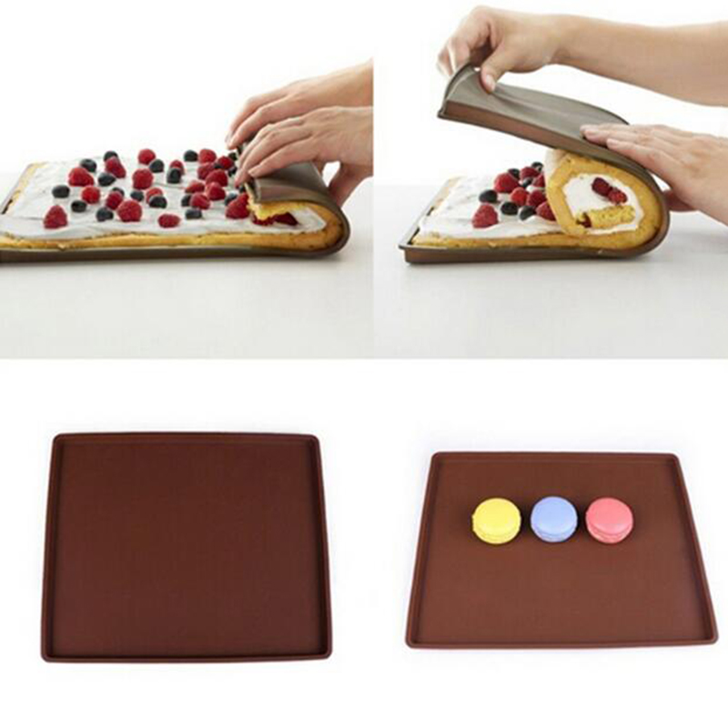 Best Silicone Baking Mat 2020 2019 Non Stick Swiss Roll Cake Baking Mat Silicone Oven Mat Pizza