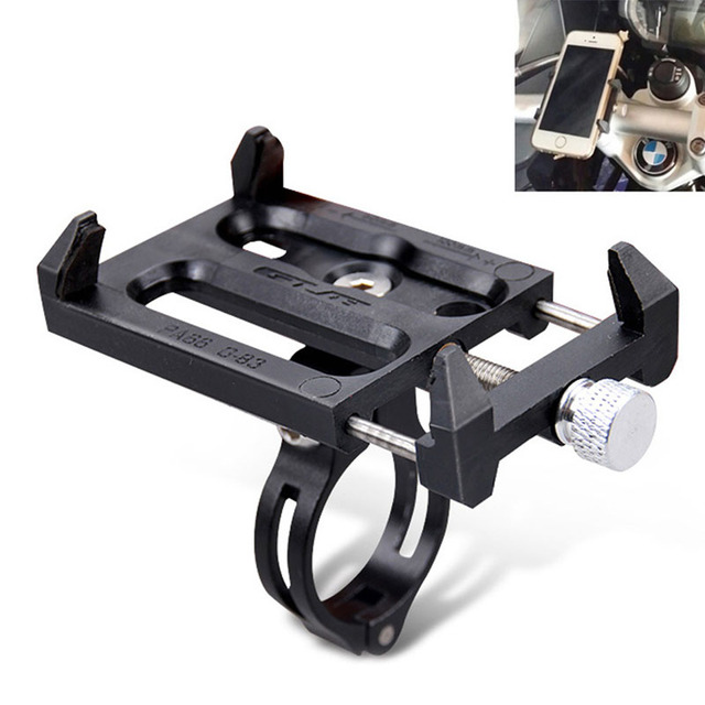 Metal Base Bike Bicycle MTB Motorcycle Handlebar Mount For iPhone Cellphone GPS