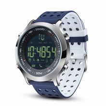 Fashion Diggro EX18 Smart Watch 5ATM Waterproof Bluetooth Pedometer Calorie Reminder Fitness Sport Wristbands For Android  iOS