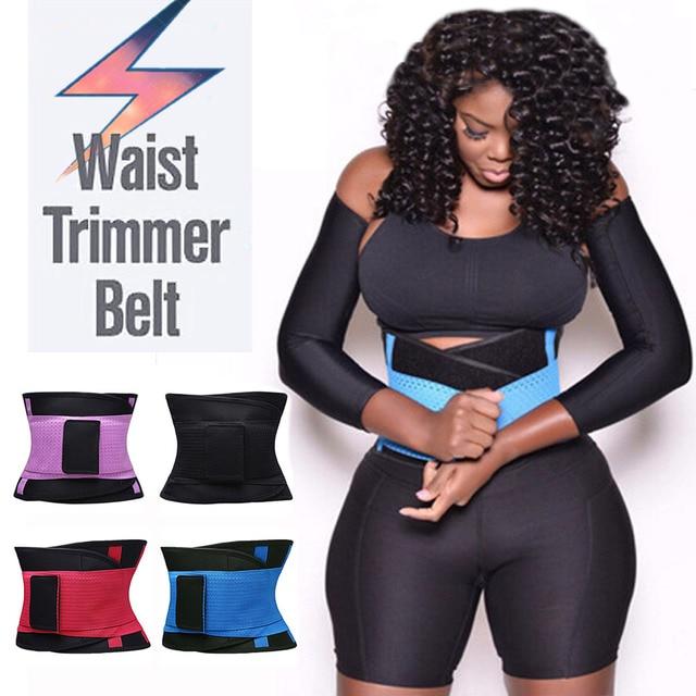 c4ef0abdcd Palicy  USPS  Unisex Super Slim Power Belt Hot Slimming Thermo Shaper Waist  Trainer Neoprene Belt Modeling Strap Waist Trimmer