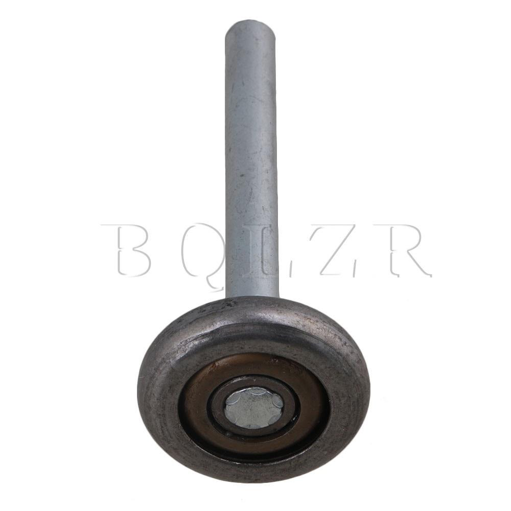4PCS 4.5 Heavy Duty Steel Garage Door Roller Ball Sealed Bearing Gray BQLZR