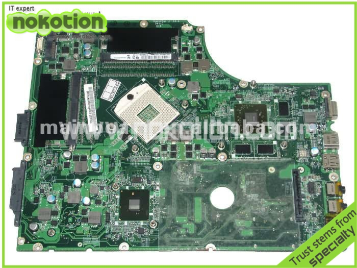 MB.PUN06.001 LAPTOP MOTHERBOARD for ACER 7745G series DA0ZYBMB8E0 INTEL HM55 graphics card ATI Mobility Radeon HD 5850 DDR3