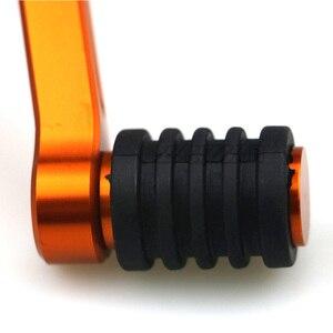 Image 5 - Paire de leviers de frein et de vitesse de levier de vitesse Orange pour KTM CNC, Duke 390, 2013, 2014, 2015, 2016 et 125, pédale en aluminium 200