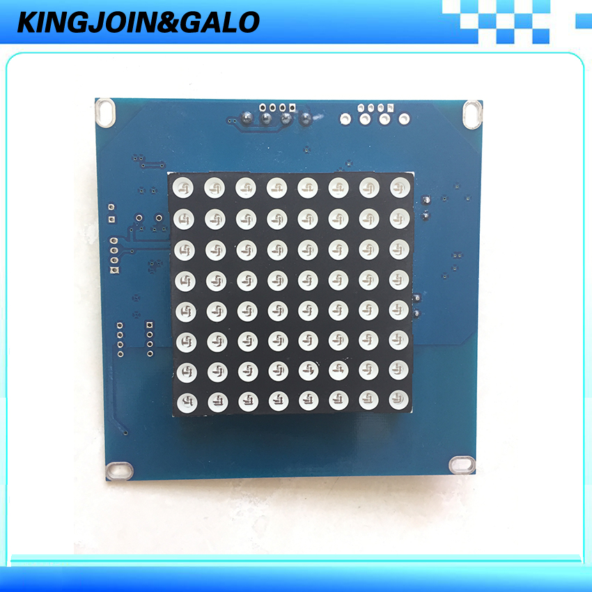 Square LED indicator board for tripod turnstile square chopping board