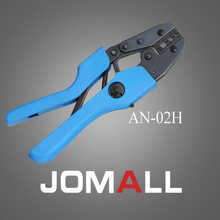 Купить с кэшбэком AN-02H crimping tool crimping plier 2 multi tool tools hands AN Ratchet Terminal Crimping Plier (European Style)