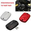 Tmax 530500 CNC Brake Fluid Reservoir Cap Cover For Yamaha T Max T-Max 500 2004-2011 Tmax 530 2012 2013 2014