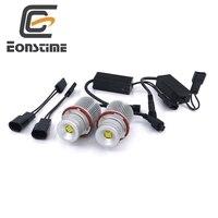 Eonstime Error Free 2X45W XBD 9LED Angel Eyes LED Marker Light Bulbs For BMW E39 E60