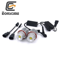 Eonstime Error Free 2X45W XBD 9LED Angel Eyes LED Marker Light Bulbs For BMW E39 E60