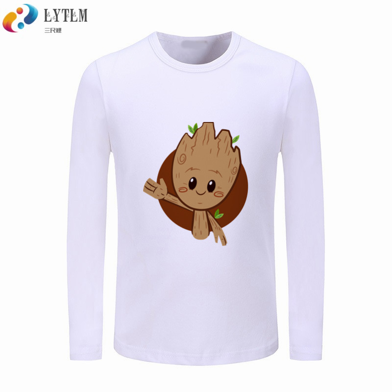 2d89eab4f LYTLM Marvel Boys T shirt Kids Tees Baby Child Boy T Shirts for Children  Baby Groot Guardianes Girl Children Long Sleeved Top-in T-Shirts from  Mother & Kids ...
