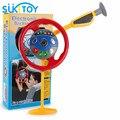 Montessori volante do miúdo macio clássico pretend play toy com luz & som pouco presente motorista para o infante pl011