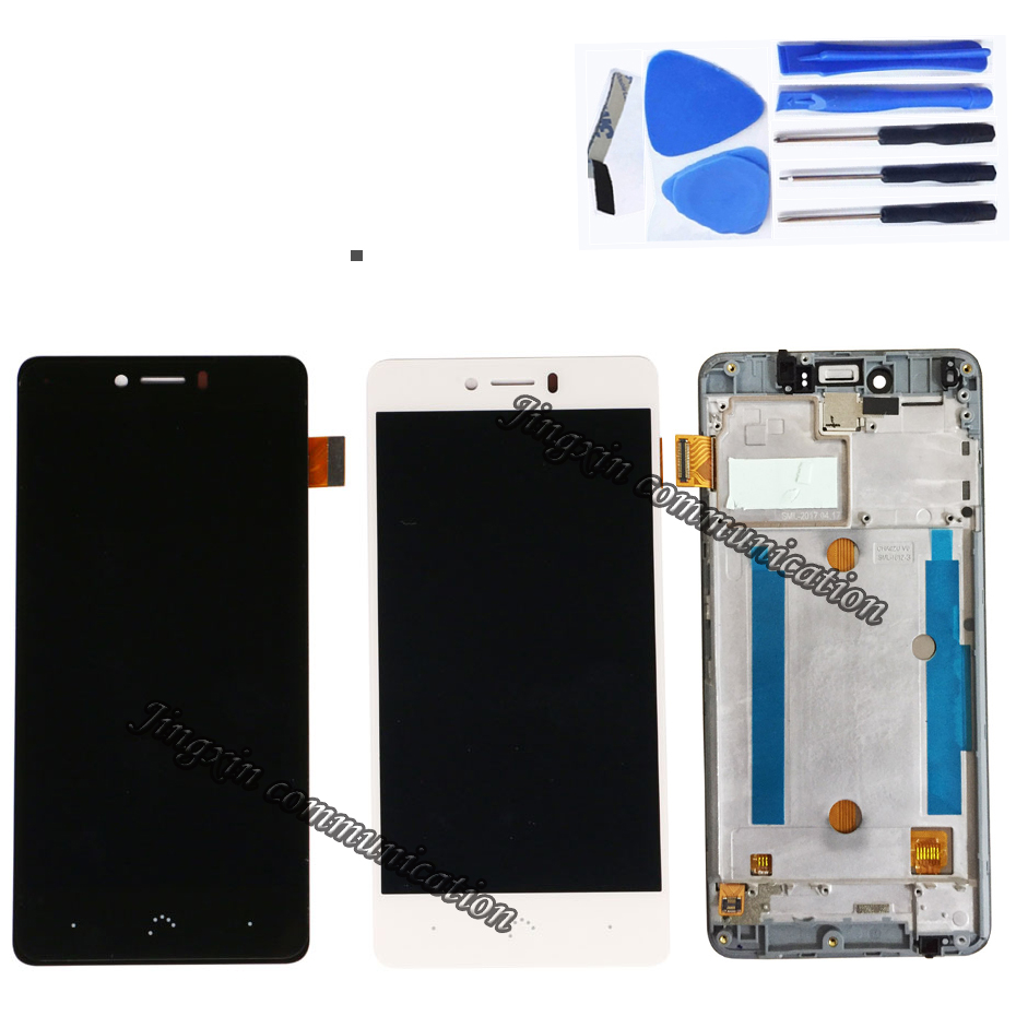 Image 2 - for BQ Aquaris U Plus LCD + touch screen components digitizer accessories replacement BQ Aquaris U plus LCD display components-in Mobile Phone LCD Screens from Cellphones & Telecommunications