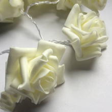 LED Rose Garland (5m, 40 roses)
