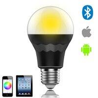 Bluetooth LED Bulb Connected To Phone RGBW CCT Smart LED Bulb CCT Light Mi Light Lamp