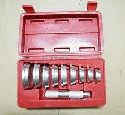 10 Pc łożyska instalacji zestaw narzędzi łożysk wyścig & Seal kierowcy narzędzia dla warsztatów Aluminium o wysokiej jakości