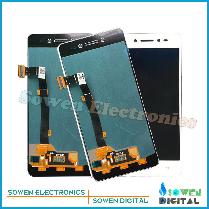 ФОТО for Lenovo S90 S90-U S90-T S90-A LCD display with Touch Screen digitizer assembly full sets , Black white