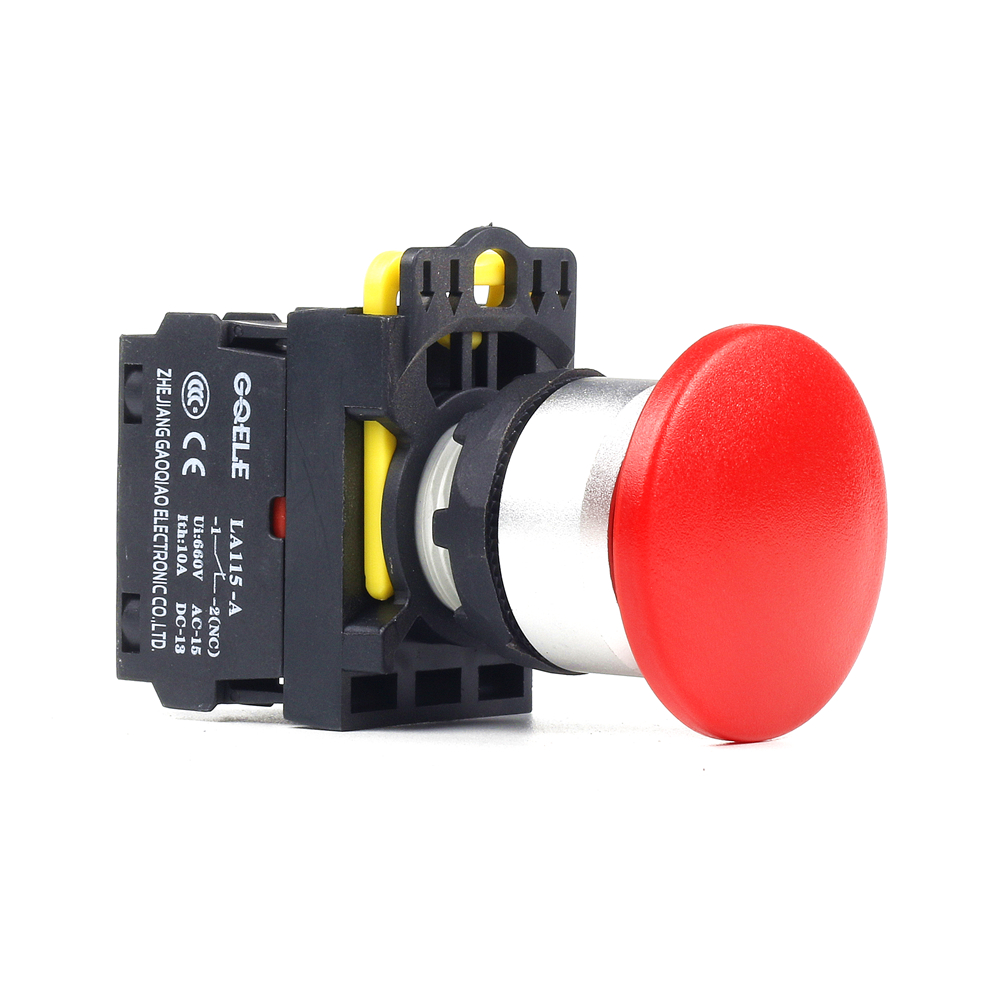 g 000 115 a2 koupit - 5 PCS Push button switch Mushroom button Latching OR Momentary IP65 LA115-A2-11M-G