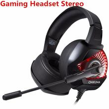 DSstyles wired headphone Gaming Headset Stereo Game Headphone with Mic RGB LED Light for Xbox One Computer PC PS4 Gamer elivebuy usb wired stereo pc gamer headphone with mic casque audio volume control 2 m computer gaming headset for ps3 ps4 pc