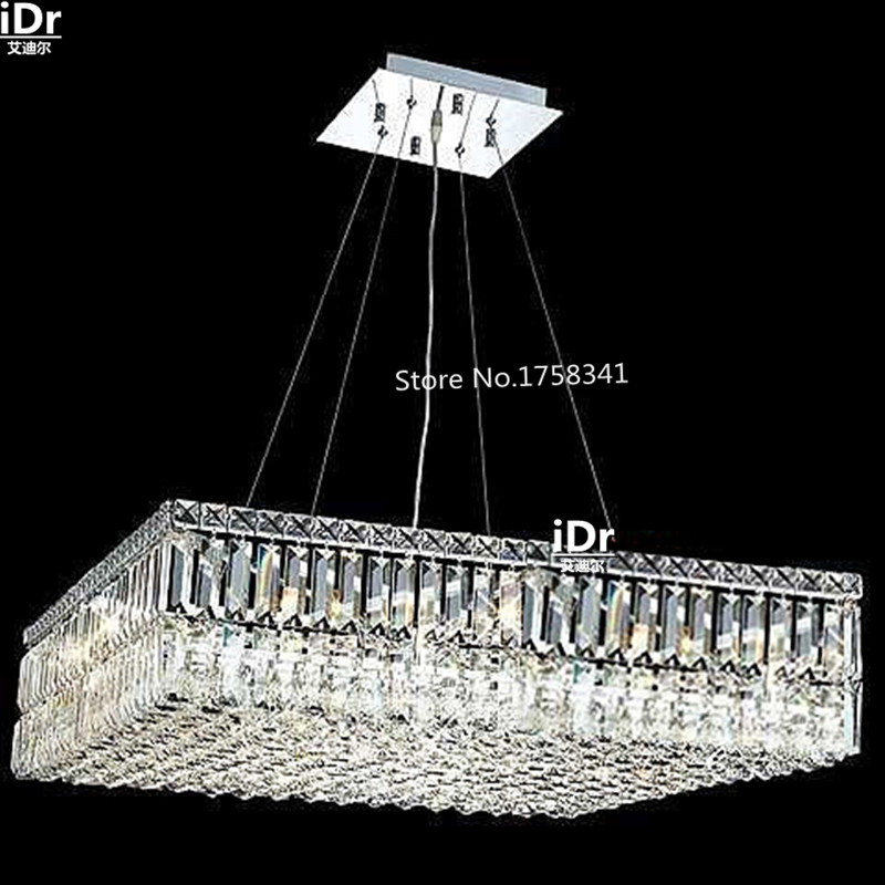 US $718.4 60% OFF|the new listing cheap modern Bedroom lamp Hall  Chandeliers pendant crystal lighting Upscale atmosphere free shipping-in  Chandeliers ...
