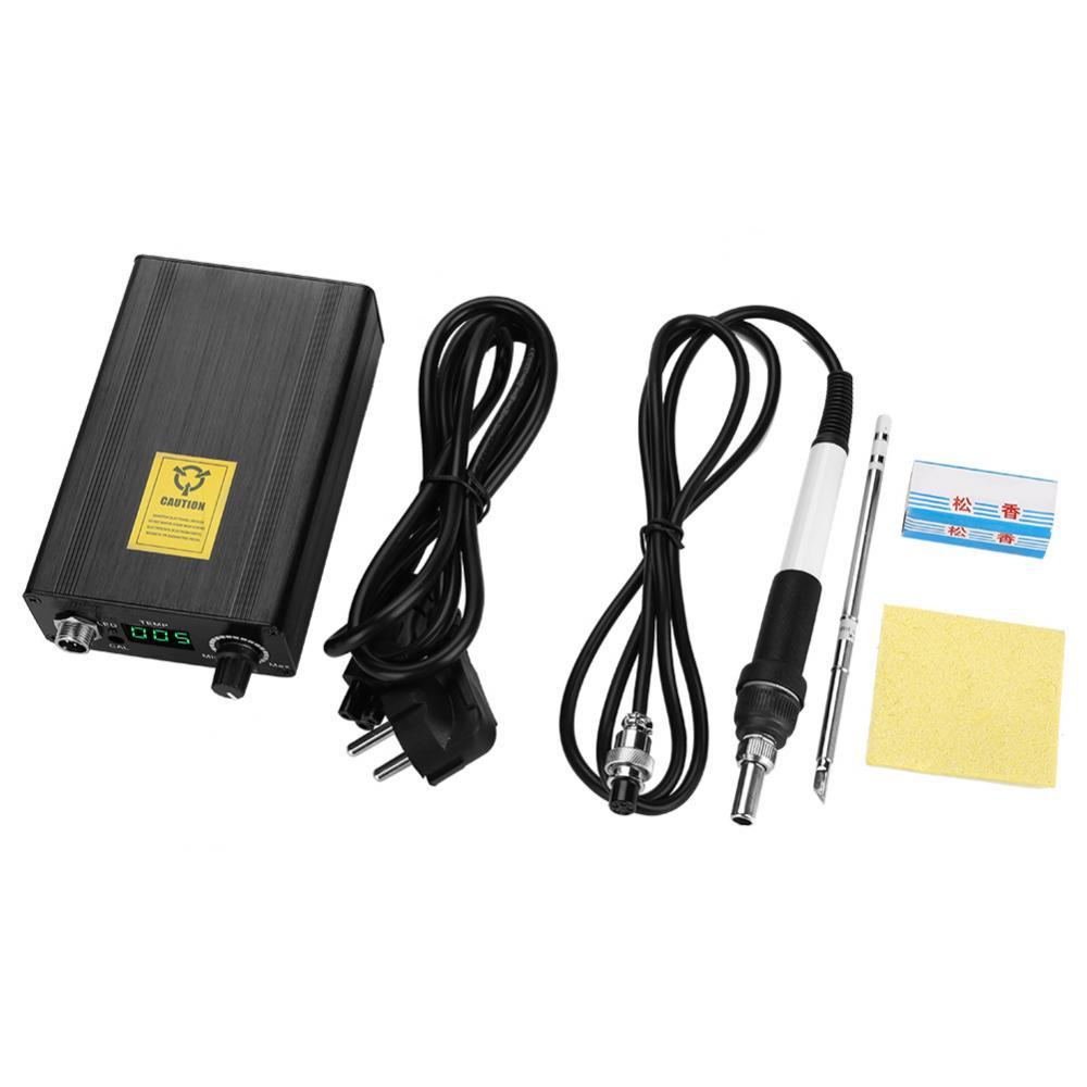 1Set Digital Display Soldering Station Set Temperature Controller Electric Soldering Kit Welding Tools Big Promotion big promotion 100