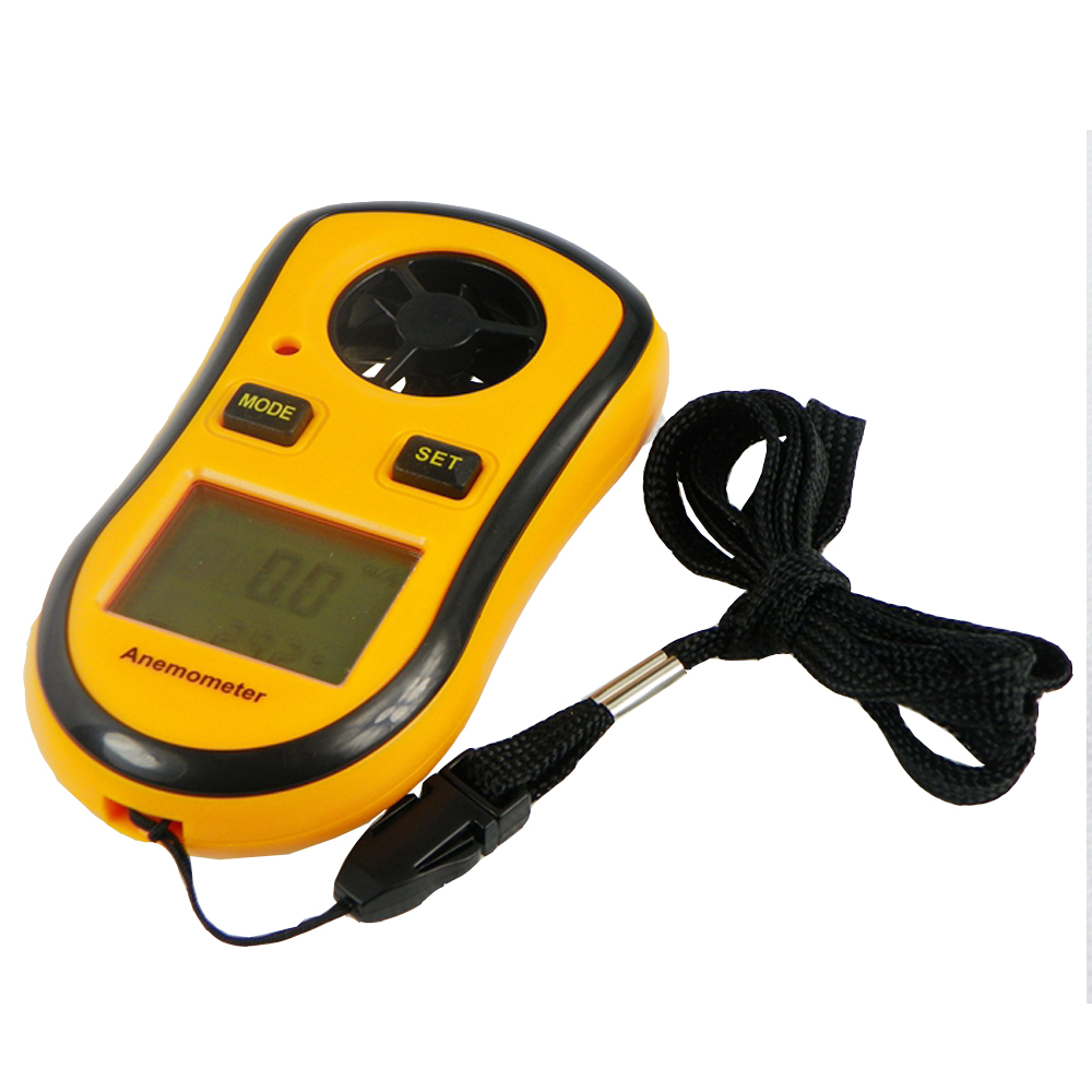 GM8908 LCD Digital Hand-held Pocket Smart Anemometer Air Wind Speed Scale Meter Measure Velocity Less than 90%RH high quality gm8901 with box 45m s 88mph lcd digital hand held wind speed gauge meter measure anemometer thermometer