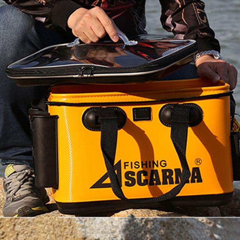 Lure box EVA multi function fishing bucket sea fishing box fishing bag Fishing gear