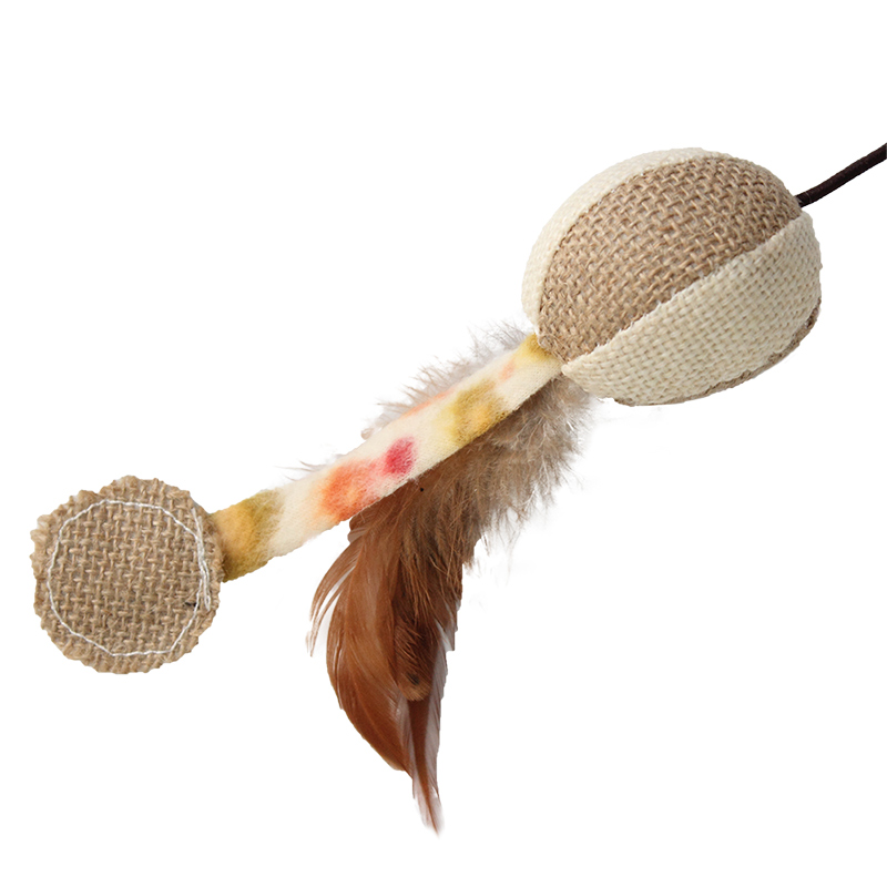 PipiFren Pet Cat Toys Feather Cute Animal Design Interactive Toys For Cats kitten Supplies in Cat Toys from Home Garden