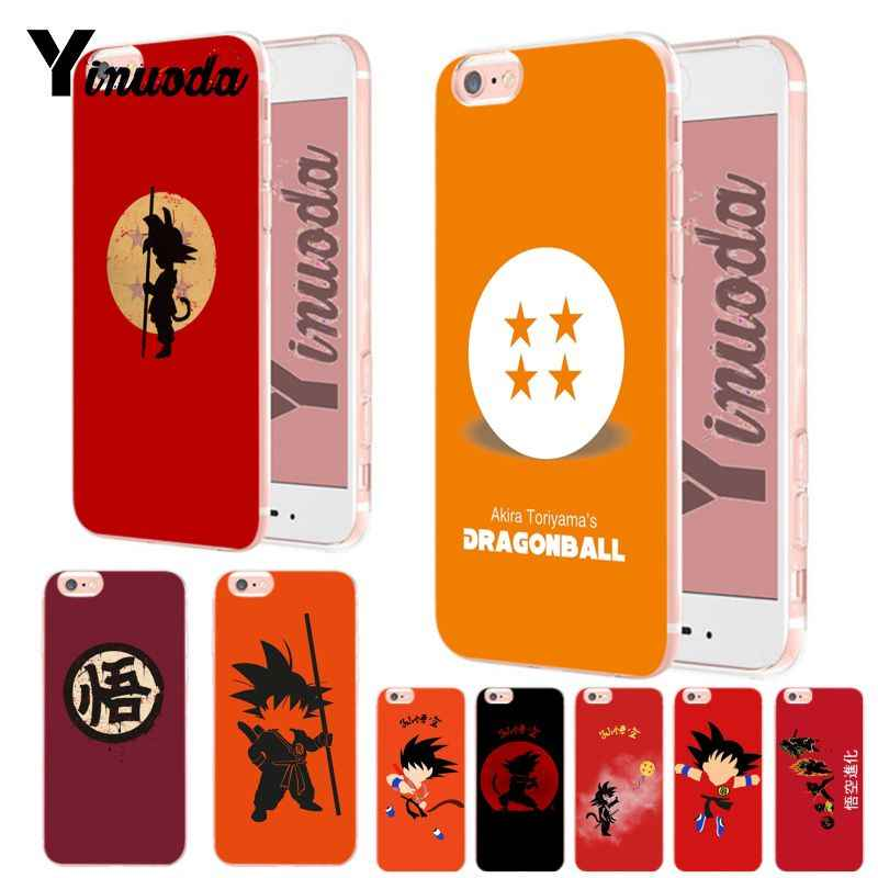 Yinuoda Dragon Ball Chibi Son Goku By Top Detailed Popular Phone Case For Iphone Xs Max 8 7 6 6s Plus X Xs Xr 5 5s Se Case Coque