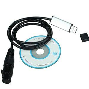 Image 5 - YIYANG USB to DMX 인터페이스 어댑터 케이블 110cm 길이 무대 조명 PC DMX512 컨트롤러 조광기 DMX USB 신호 변환