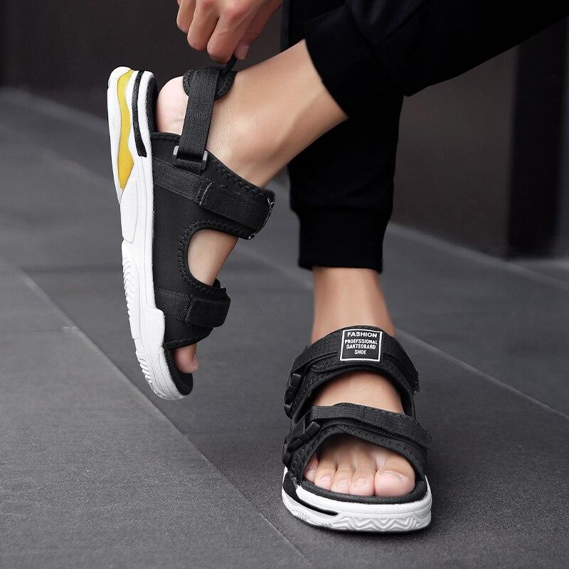 Man Beach Sandals Summer Gladiator Men's Outdoor Shoes Roman Men Casual Shoe Light Flip Flops Slippers Fashion Sandals Casuals 4