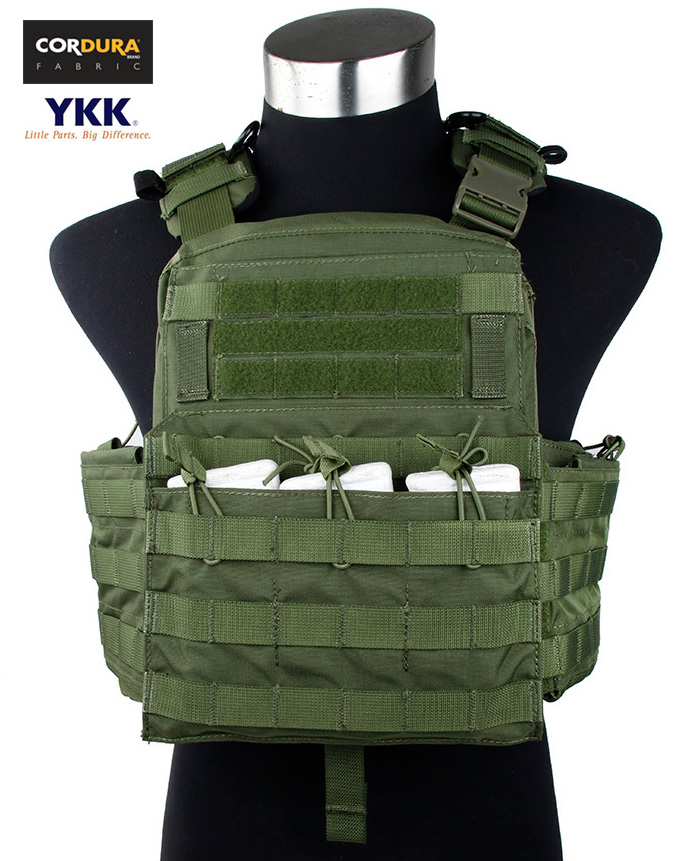 Tactical CPC Plate Carrier MOLLE Military Hunting Airsoft Combat Vest Ver.2016 OD(STG050237) цены онлайн