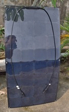 """Solarparts 1×100 Watt 12 V Schwarz Farbe flexible solarpanel-modul zelle für RV/yacht/boot/camping auto/außen ladegerät 5 """"3,4 Watt fabrik"""