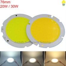 76mm 20W 30W Ultra Bright Circular LED Chip COB Light Source for Downlight Spotlight Ceiling Lights Big Power Chip On Board