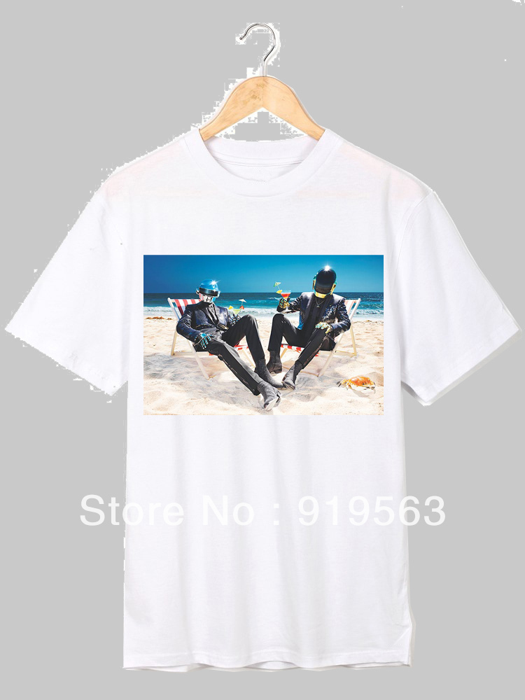 daft punk let's party dance shirt cool tee
