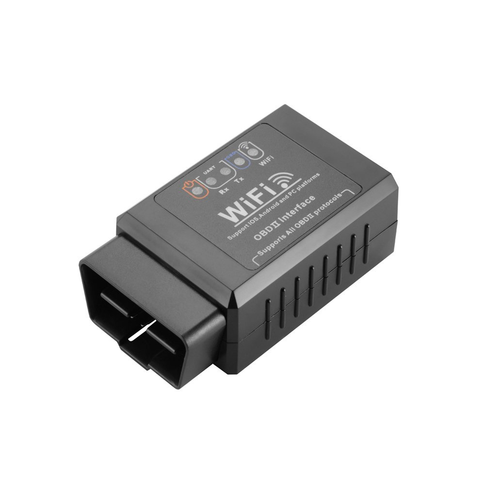 ELM327 Wireless WiFi V2.1 OBD2 OBDII Car Code Reader Vehicle Diagnostic Scanner Tool for iOS Android Windows Smart Phones DY179