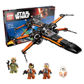 748 pcs LEPIN 05004 Star Wars First Order Poe's X-wing Fighter Assembled Toy Building Block Bricks Set Compatible Legoed Gift