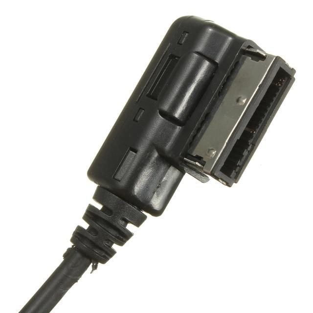 Adaptateur de musique et dautoradio | Pour AUDI A3 A4 A5 A6 Q5 Q7 AMI AUX, câble prise Jack 3.5mm