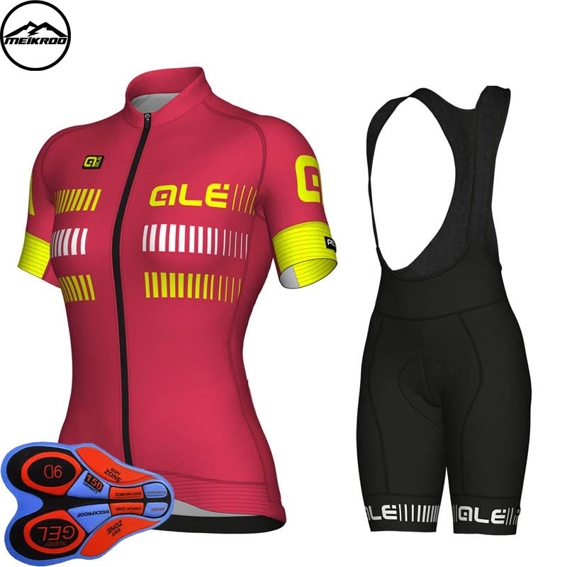 Ropa Ciclismo Womens Cycling Jersey Summer Short Sleeve Bicycle Cycling Clothing Roupa De Ciclismo MTB Bike Jersey Sets