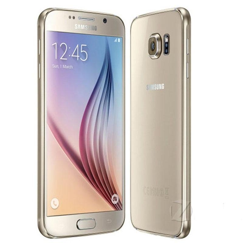 "bilder für G920F Original Samsung Galaxy S6 G920F EU Version Handy 3 GB RAM 32 GB ROM 16.0MP 5,1 ""4G telefon, freies DHL-EMS verschiffen"