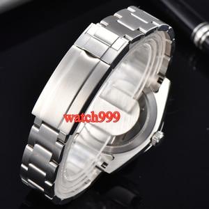 Image 2 - 40mm BLIGER Luminous Mechanical men watch Sapphire crystal  black dial Automatic mens Watch