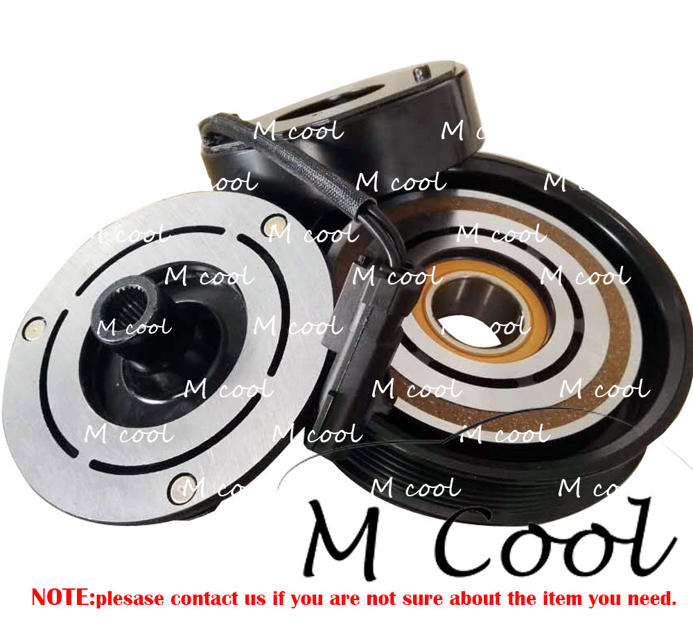 A C Air Conditioner Conditioning Compressor Clutch Pulley Hub Plate Kompresor Vw Polo Denso High Quality Brand New Ac Assembly For Car Dodge Caravan Grand 33l