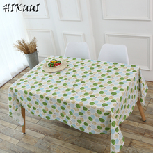 HIKUUI Small Tree Pattern Table Cloth Cotton Lined Tablecloth Europe Simple  Decoration Table Cover 2017 New Arrival Pastoral