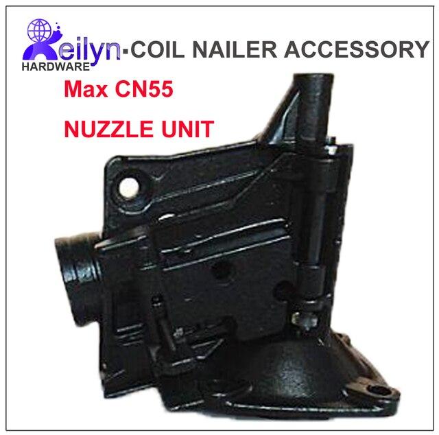 CN55 nariz unidad nuzzle conjunto clavadora piezas para pistola de ...