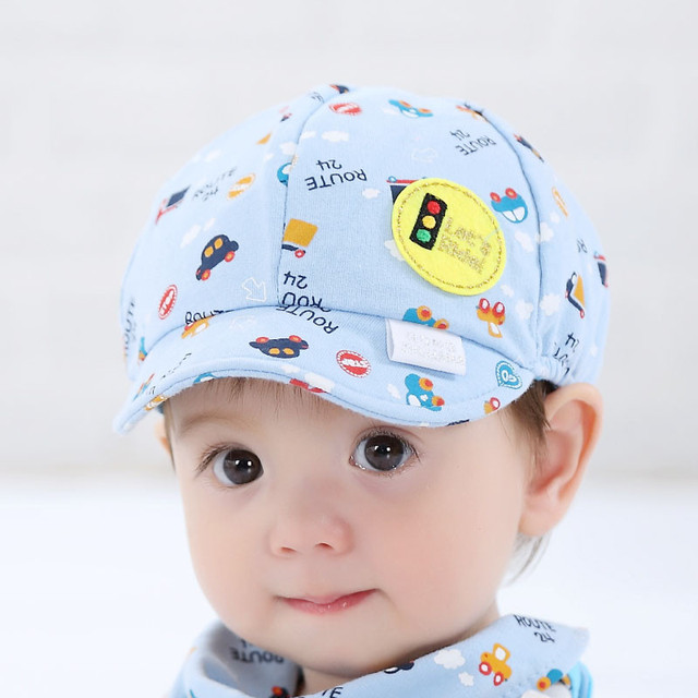 18068708ab5 Baby Boy Girl Hat Toddler Infant Little Car Baseball Beret Cap Cute Printing  Cartoon Hat Taco De Beisebol  7919