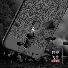 sFor Phone Case Nokia 7.1 Luxury Rubber Silicone For 2018 Back Cover Coque Fundas