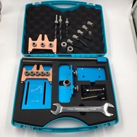 6mm 8mm 10mm Dowel Jig 3 In 1 Set Dowelling Jig 5Holes Woodworking Drilling Locator Tool